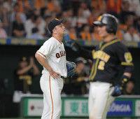 【巨人】沢村、8回に大炎上!一挙6失点で阪神に逆転許す