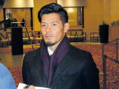 山口蛍C大阪退団は「いろいろな人に重く受け止めてほしい」楽天グループ納会に出席