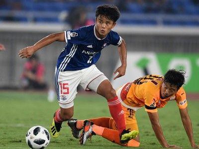1週間で3試合先発の17歳…横浜FM久保建英がコンディション不良を吐露