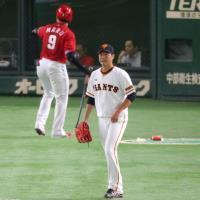 【巨人】19被安打で完敗も岡本が3試合連続弾…広島戦試合経過