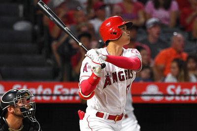 【MLB】大谷翔平、8号ソロ!第2打席でセンターへ特大の一発