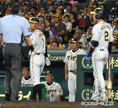 阪神・梅野の凡プレーに金本監督ガックリ「あんなの見たことない」