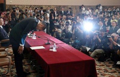 <アメフット>日大の宮川選手が復帰を検討チーム訪れ謝罪