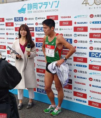 川内優輝、静岡マラソン初出場V「勝負に徹した」