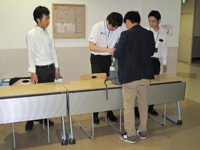 """関学大きょう3度目会見""""乱入""""対策で手荷物検査"""
