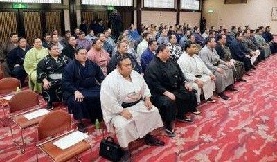 力士の暴力に対する処分基準決定横綱は引退勧告以上日本相撲協会