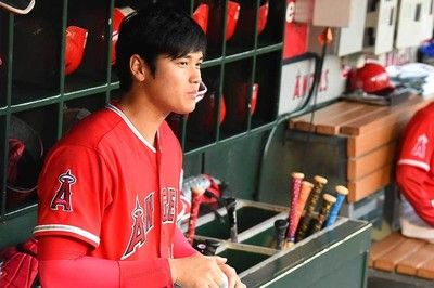 【MLB】打者・大谷、対左腕で起用されず…指揮官「右と比べて昼と夜の差」も将来期待