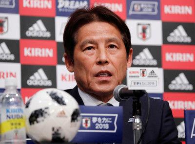 サッカー=西野監督、W杯日本代表メンバーを発表