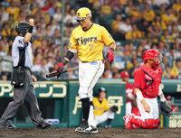 【阪神】広島と今季最大の11ゲーム差糸井は右足ひ骨骨折から復帰後、初めて快音なし