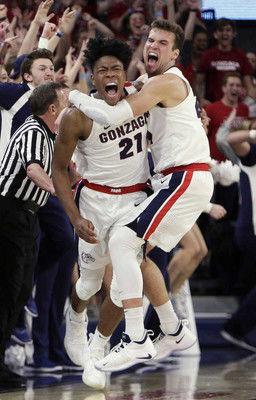 全米大学男子バスケのランキングで八村塁のゴンザガ大が1位に再浮上デューク大が陥落