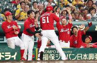 【広島】2戦で7発11点虎に6連勝、貯金今季最多の16に