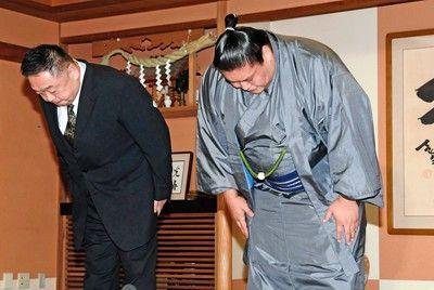 引退の貴ノ岩が会見「弟弟子に手を上げてしまい大変つらい思いをさせた」と謝罪