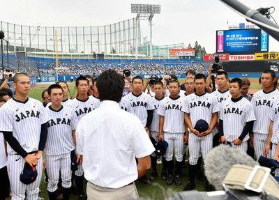 U18日本代表スタメン発表大阪桐蔭トリオがクリーンアップ