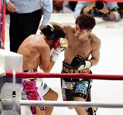 井上尚弥、30秒で「あ、これ、いける」王者のパンチ見切る村田も舌巻く圧勝