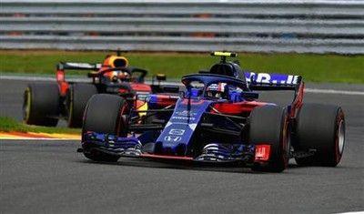 トロロッソ・ホンダが9位入賞!ガスリーが2戦連続ポイント獲得/ベルギーGP