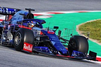 【F1テスト1回目デイ4・午前タイム結果】トロロッソ・ホンダのアルボンがトップ、レッドブルのガスリーは7番手