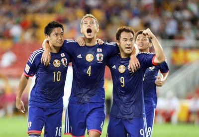 本田、岡崎、香川を選出「ビッグ3」そろい踏み