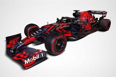 【F1新車発表】斬新なカラーリング!レッドブル・ホンダ1号マシンRB15初披露。勝利を目指し……高まる期待感