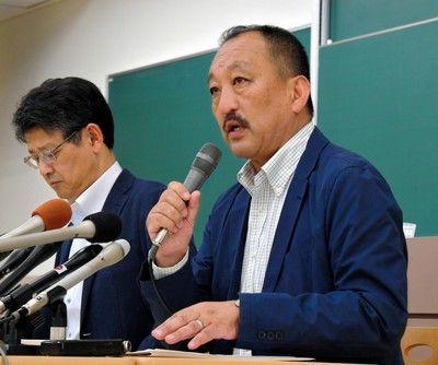 関学大監督日大選手を支援「アメフトを続けてほしい」