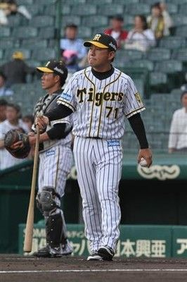 阪神、一塁コーチ変更