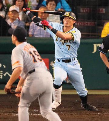 阪神糸井弾で勝率5割に巨人菅野好投報われず