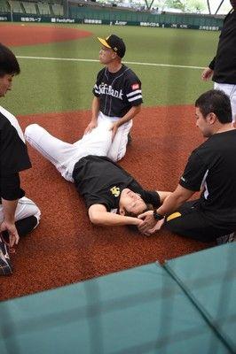 ソフトB柳田、西武との天王山欠場へ頭部に打球直撃、工藤監督「今日は無理」