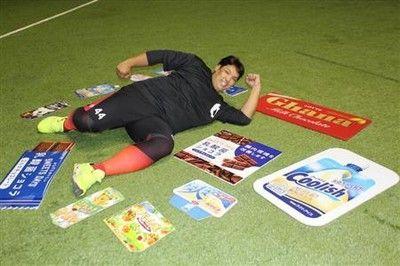 """ロッテ・アジャ井上""""キング""""体重120キロ!球界日本人選手の最高更新"""