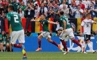 メキシコ、前回王者ドイツからロサーノ先制!…前半1―0リード