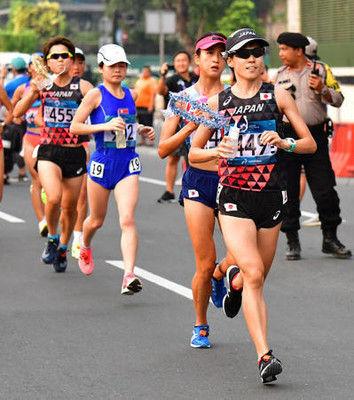 野上恵子は銀メダル、ケリモが金女子マラソン