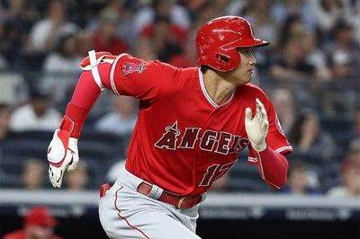 【MLB】大谷がチャップマンとの対決で密かに自己新樹立一塁到達タイムは3.98秒