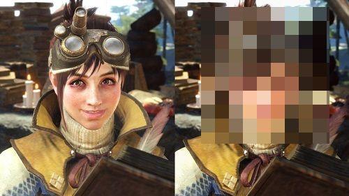 モンスターハンターワールド MHW PC版 MOD 受付嬢に関連した画像-01