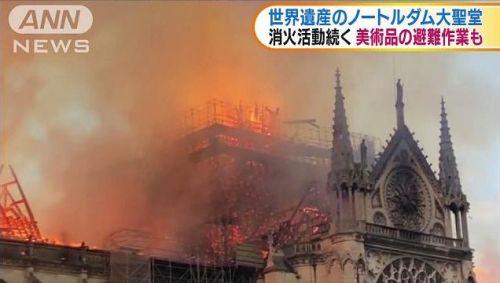 ノートルダム大聖堂 火事 出火 原因 工事に関連した画像-01