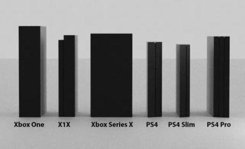 XboxSeriesX 他ハード サイズ比較に関連した画像-01