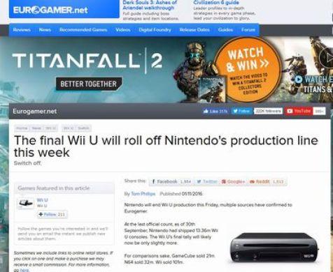 WiiU 今週 生産終了 任天堂 に関連した画像-02