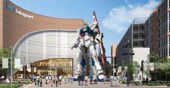 実物大ガンダム ららぽーと福岡 ファンネル カラーリングに関連した画像-01
