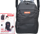 MILKFED. BACKPACK BOOK RED ver. 《付録》 5つの収納がすごい!ベストセラーバックパック