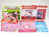 【店舗限定配布】対象のお菓子を3個購入でローソンオリジナル「ハローキティミニポーチ(全4種)」