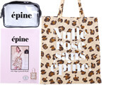 épine tote bag & pouch book 《付録》 レオパード柄トートバッグ&クリアポーチ