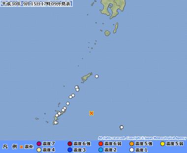 沖縄本島近海20180915080936495-15170534