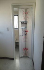 浴室ドア(リフォーム後):貸家2号