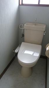2階トイレ・アフター:貸家3号