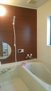 浴室・アフター:貸家3号
