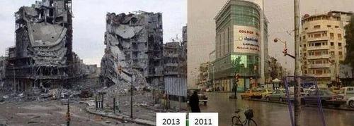 シリアのビフォー・アフター17