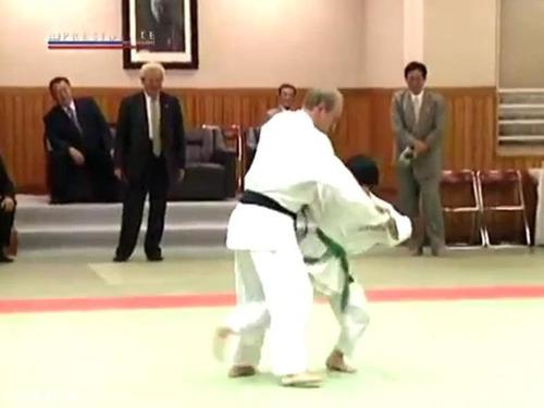 プーチン大統領と柔道00