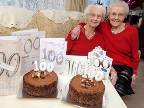 100歳の姉妹…長生きの秘訣00