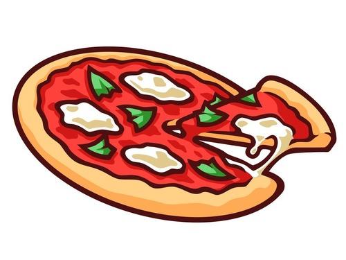 ピザを盗み食いする知恵00