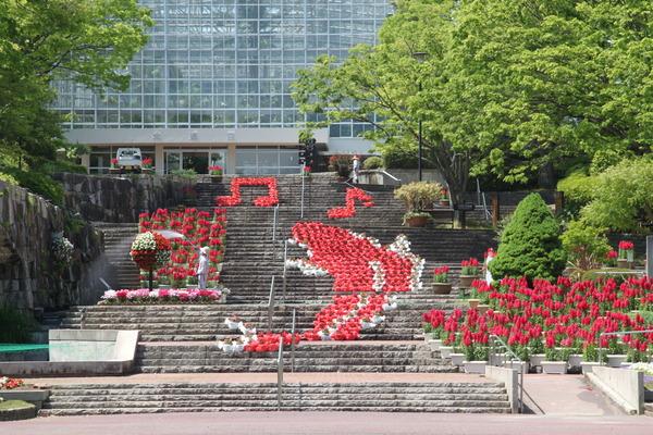 2020_植物公園赤の階段