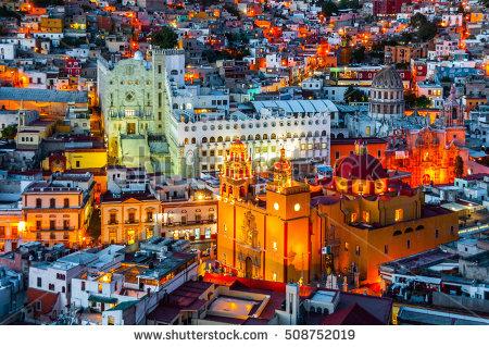 stock-photo-guanajuato-at-night-mexico-508752019
