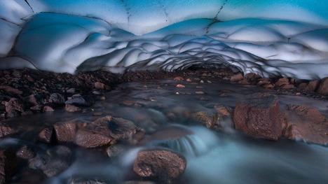 130704スリー・シスターズの氷穴@アメリカ オレゴン州