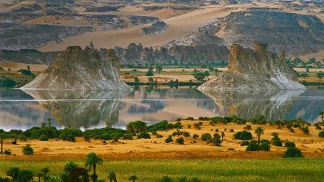 130525ウニャンガ・セリール湖@チャド共和国